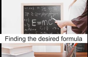 数式を導き出せ!