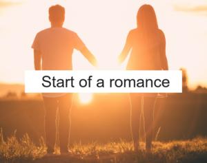 Start of a romance
