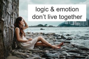 どうして論理と感情は別物なんだろう