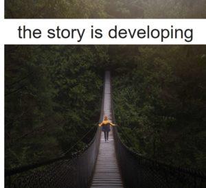 物語は進んでいく