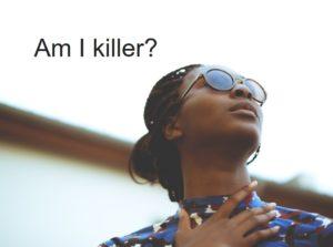 私が殺人犯?