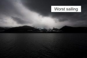 最悪の船出…