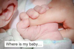 私の赤ちゃんは…
