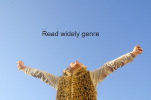 幅広いジャンルを読む